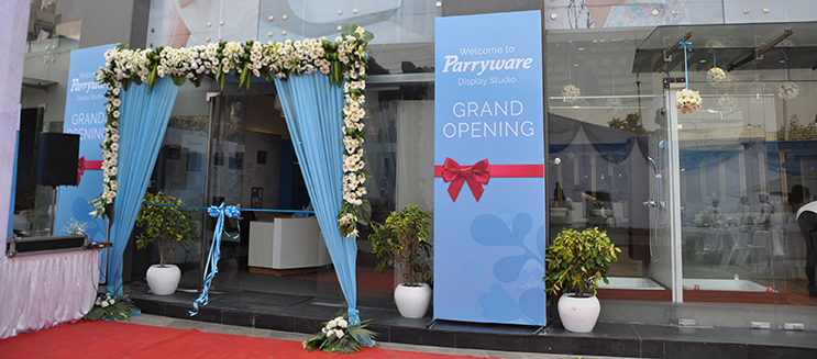 Parryware Launches it's first Display Studio