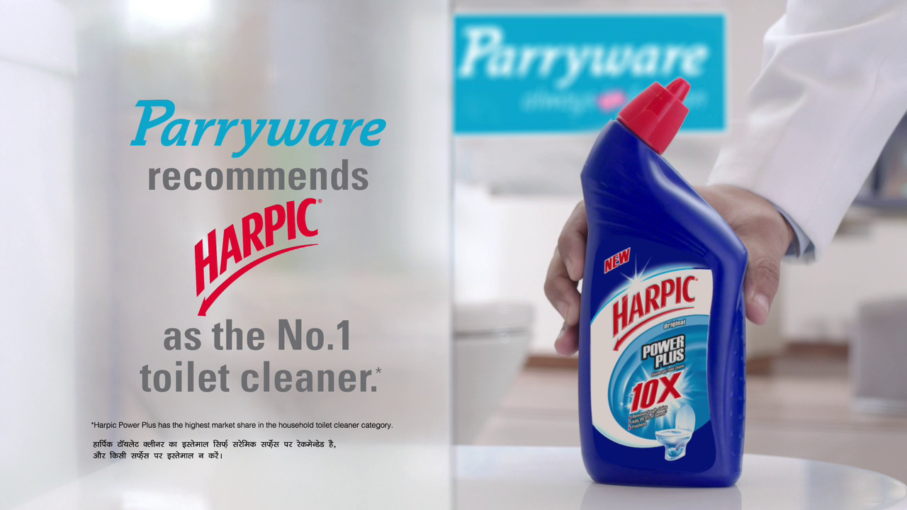Parryware and Harpic Drive Bathroom Hygiene