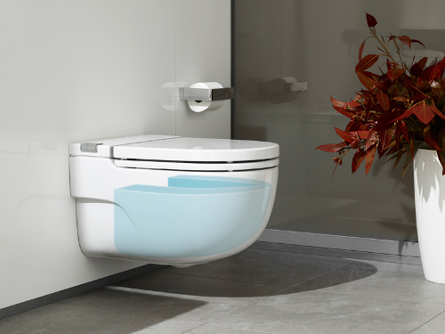 Cistern + Push-Plate + WC = In-Tank Meridian