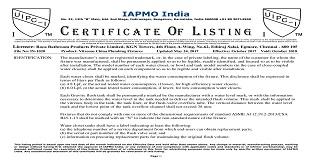 roca_uipc_i_listing_certificate.JPG
